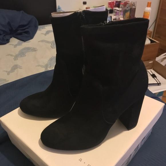 bbeb3bd8044 A•N•D Donnie black boots